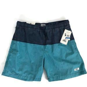 Trunks Surf Men Swim Trunks Size XL Blue